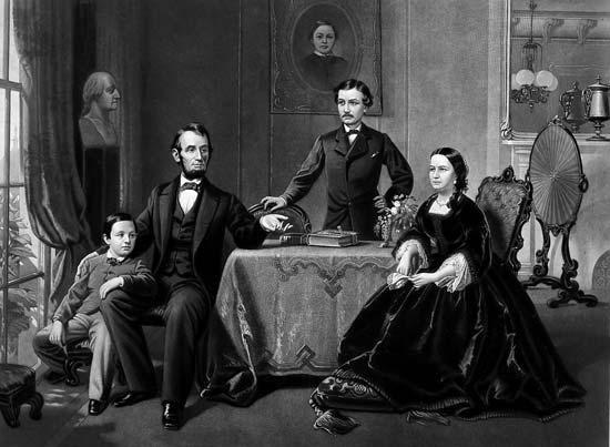 زندگی خصوصی آبراهام لینکلن