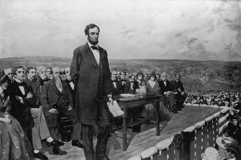 سخنرانی آبراهام لینکلن