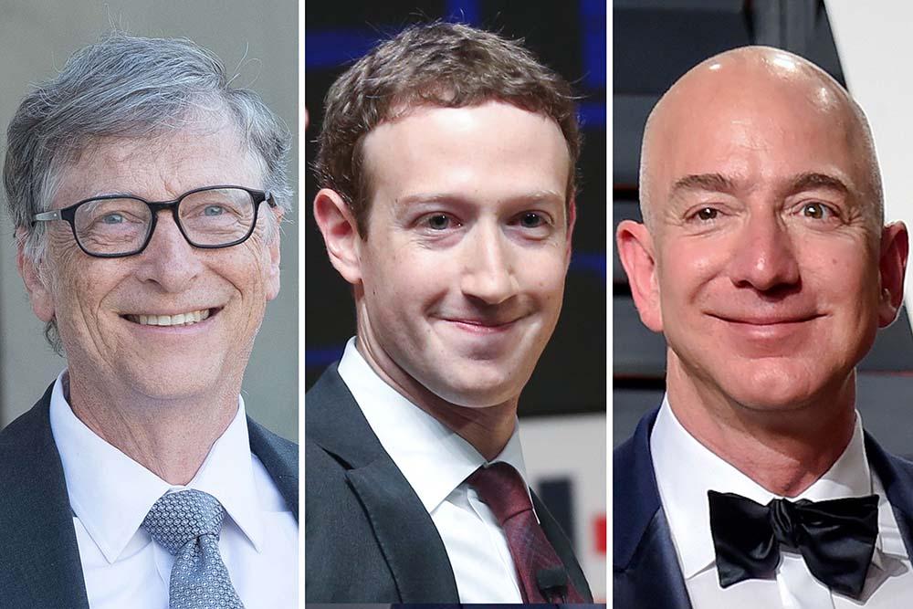 ثروتمندترین افراد جهان در سال 2018