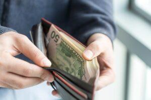 نگرانی برای پول