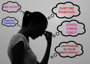 نشانههای مثبت گرایی سمی